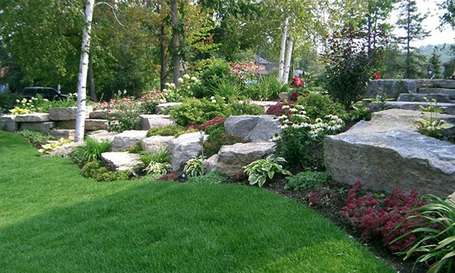 Rock Garden Ideas Landscape Photograph | One of our